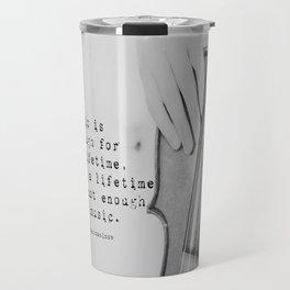 Music Quote Rachmaninov Travel Mug