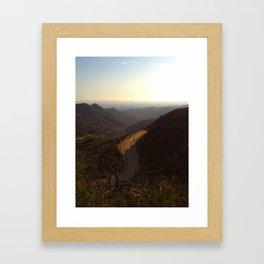 Way Found Framed Art Print