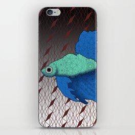 Beta Fish - Panel B iPhone Skin