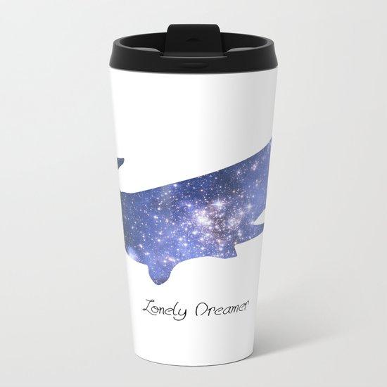 Lonely Dreamer Metal Travel Mug