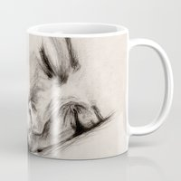 sleep Mugs featuring SLEEP by Joelle Poulos