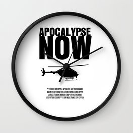 Apocalypse Now Move Poster Wall Clock