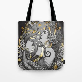 Tribal belly dancer witch Tote Bag