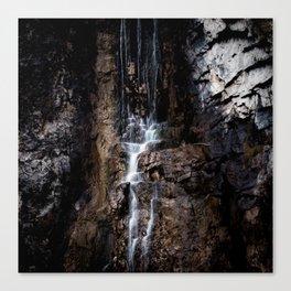 Trickle falls Canvas Print