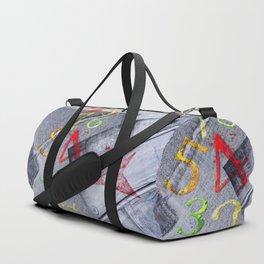 Denim collage Duffle Bag
