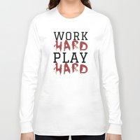 die hard Long Sleeve T-shirts featuring HARD by Free Specie