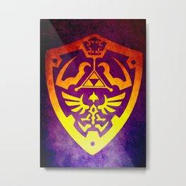 Zelda Shield II Metal Print