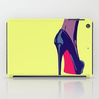 shoe iPad Cases featuring Shoe by Giuseppe Cristiano