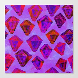 Fairy gems Canvas Print