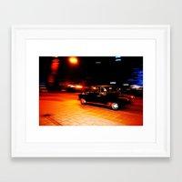rush Framed Art Prints featuring Rush by Savannah Frances