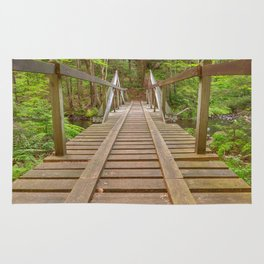 Forest Track Bridge Rug