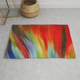 Flame Of Colour Rug