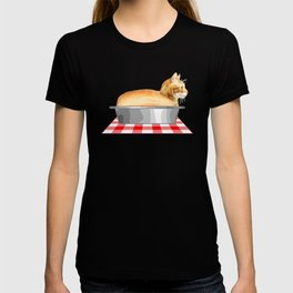 Loaf of Cat in a Pan T-shirt