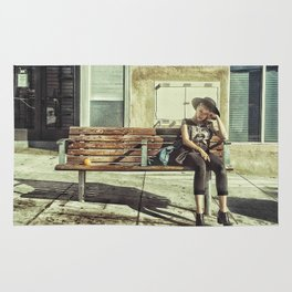 Waiting game Rug