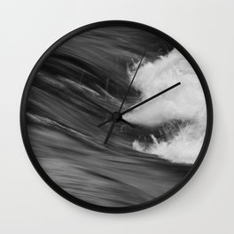 Smooth Turbulence Wall Clock