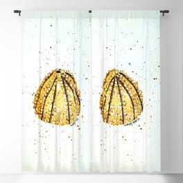 Sea Urchin 1 Blackout Curtain