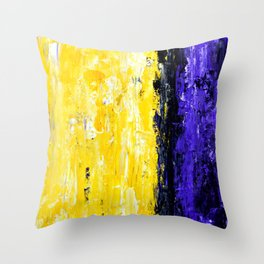 Color Combo #4 Throw Pillow
