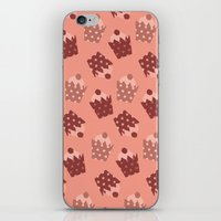 cupcakes iPhone & iPod Skins featuring Cupcakes by Ingrid Castile