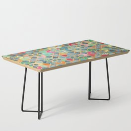 Gilt & Glory - Colorful Moroccan Mosaic Coffee Table