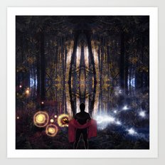 Secret Splendor of Night Art Print