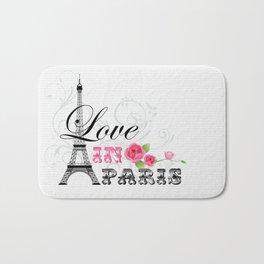 Love in Paris Bath Mat