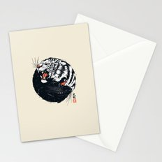 Taichi Tiger Stationery Cards