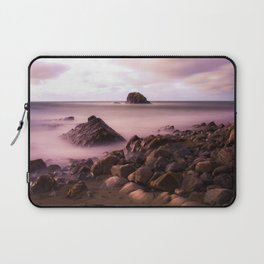 Black Rock, Widemouth Bay, Bude, Cornwall, England, UK Laptop Sleeve