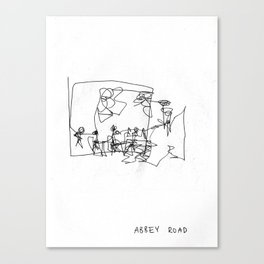 Abbey Road (?) Canvas Print