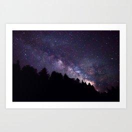 Galaxy Risen Art Print