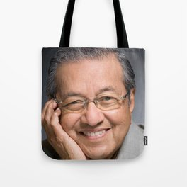 Dr Mahathir Mohamad Tote Bag
