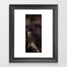 Flow Portrait Framed Art Print