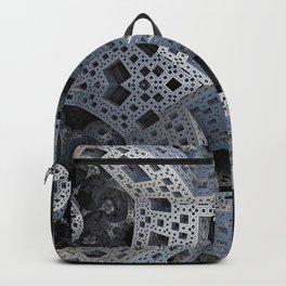 Fractal Art - spaceship drive Backpack
