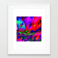 cracked Framed Art Prints featuring Cracked by David  Gough