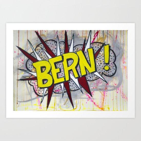 Bern! Art Print
