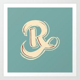 R Art Print