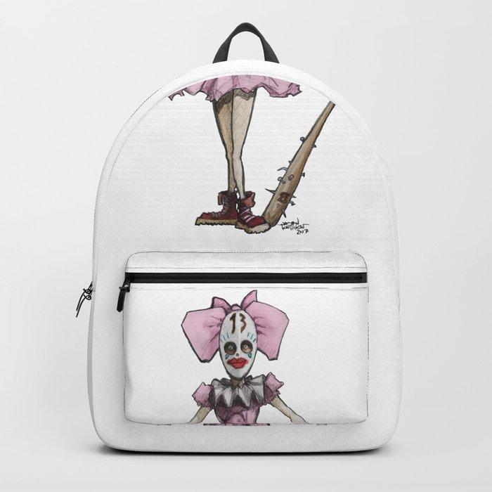 Clown Number 13 Backpack