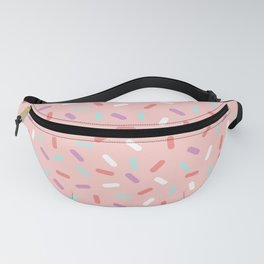 Pink Sprinkle Confetti Pattern Fanny Pack