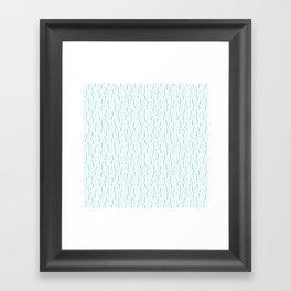 Bracket Blue Framed Art Print