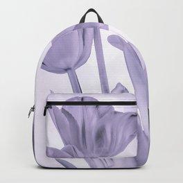 Tulips (b&w) Backpack