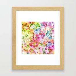 tendres fleurs des champs Framed Art Print