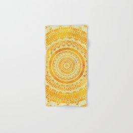 Sun Mandala 4 Hand & Bath Towel