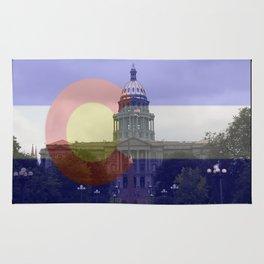 Colorado proud native life 5280 Rug