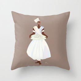 ORIXAS_ ifá Throw Pillow