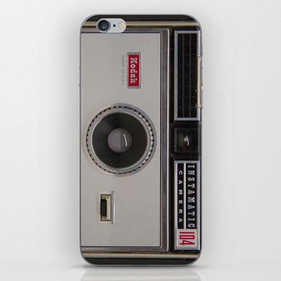 Instamatic Camera 3 iPhone & iPod Skin