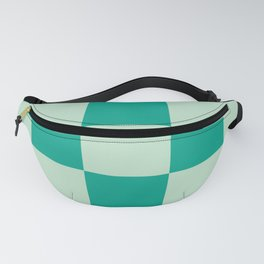 Bright Mint Wanderlust Checker Leprechaun Fanny Pack