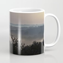 Foggy Summer Morning in France Coffee Mug
