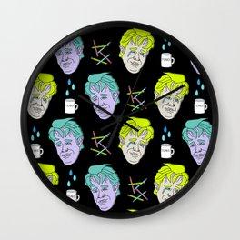 Crying Dawson (Black) Wall Clock