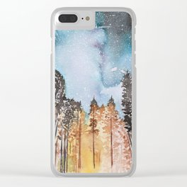 WALDEN Clear iPhone Case
