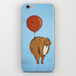 Float On, Bear, Float On iPhone Skin