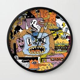 The Escape Plan Wall Clock